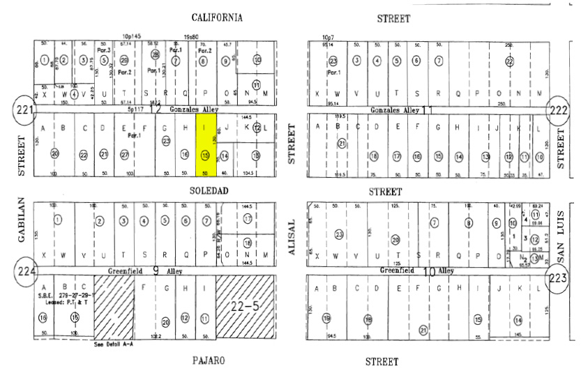 235 Soledad Street Parcel Map Multi-Family For Sale in Salinas